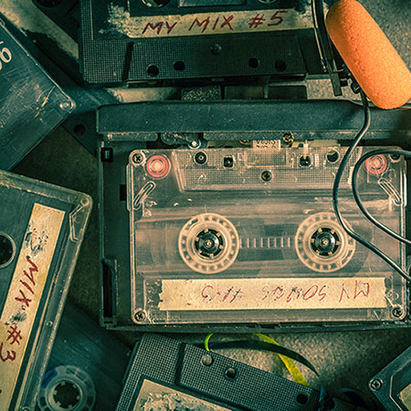 Cassette tape to CD conversion